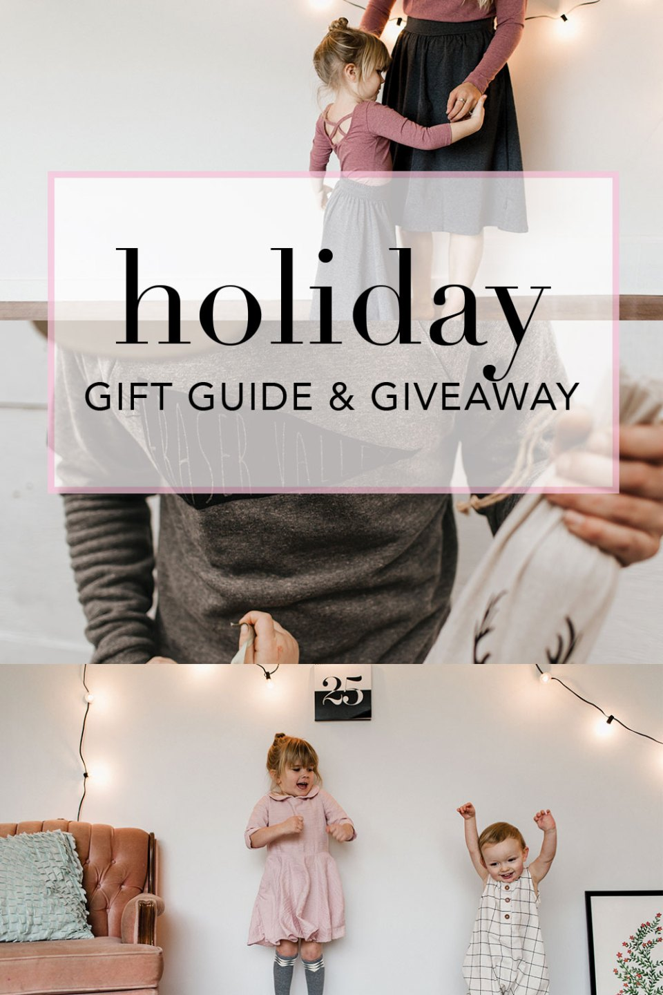 Giveaway | Holiday Gift Guide curated with small shop goods and coupon codes.