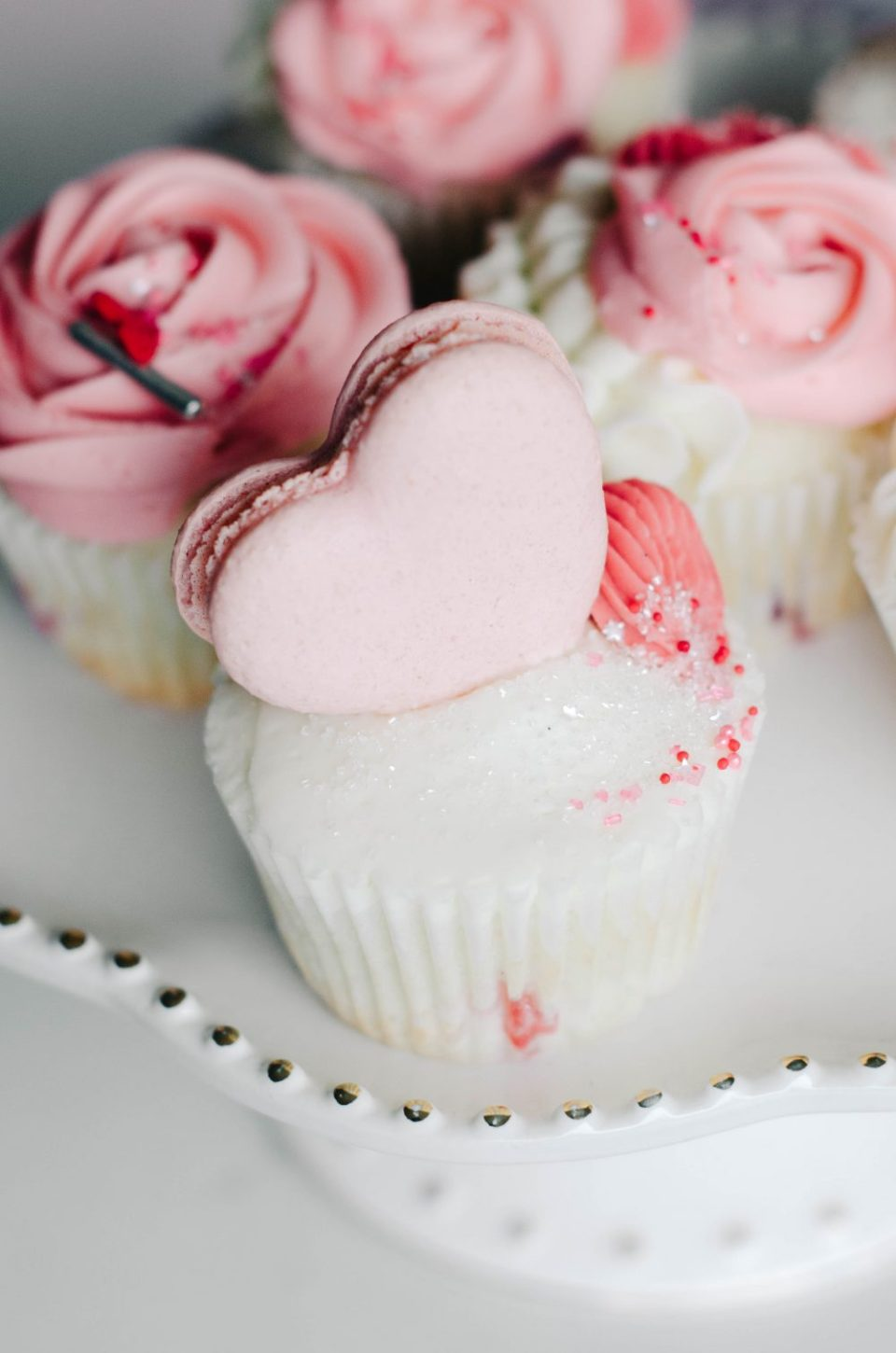 Valetine's Cupcakes by Vanilla Bean Bakery | Valentine's Themed Gift Ideas
