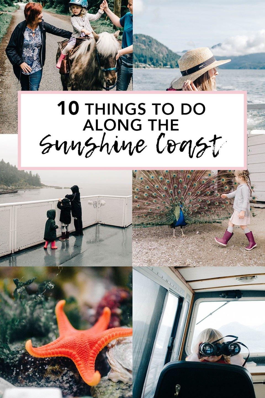 Things to do along the Sunshine Coast travelling BC Transit