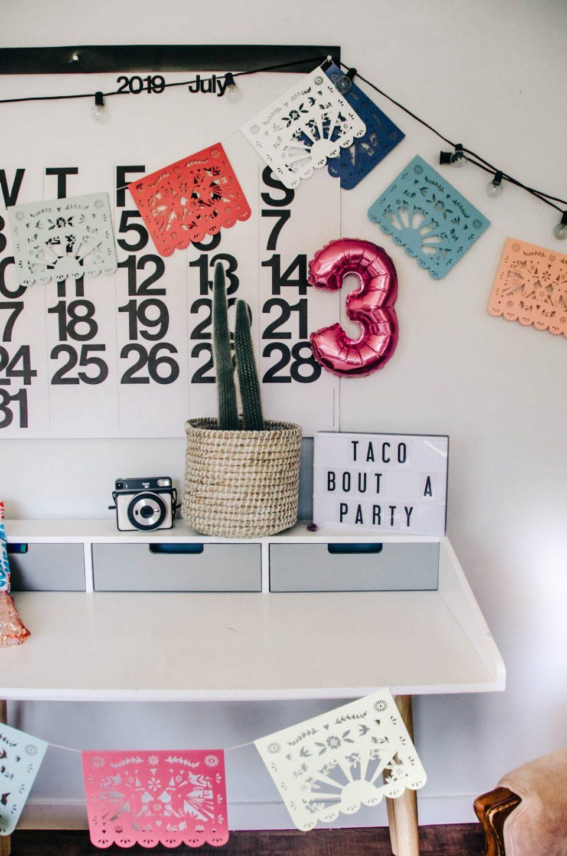 Three-esta! Mexican Themed Kids Birthday Party Ideas