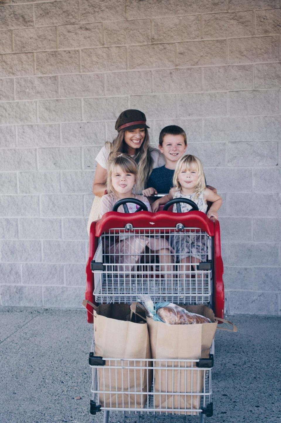 Grocery Shopping with kids at Choices Markets