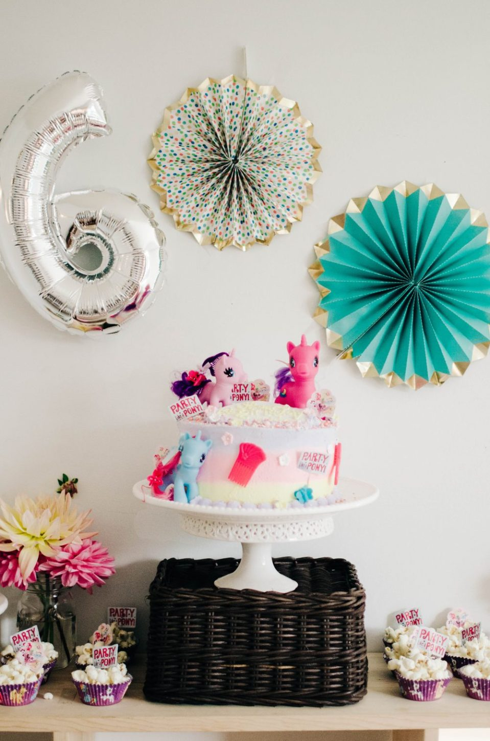 My Little Pony Birthday Party Decor