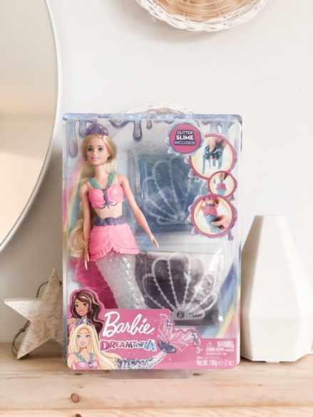 Color Reaveal Barbie Doll and Dreamtopia Slime Mermaid