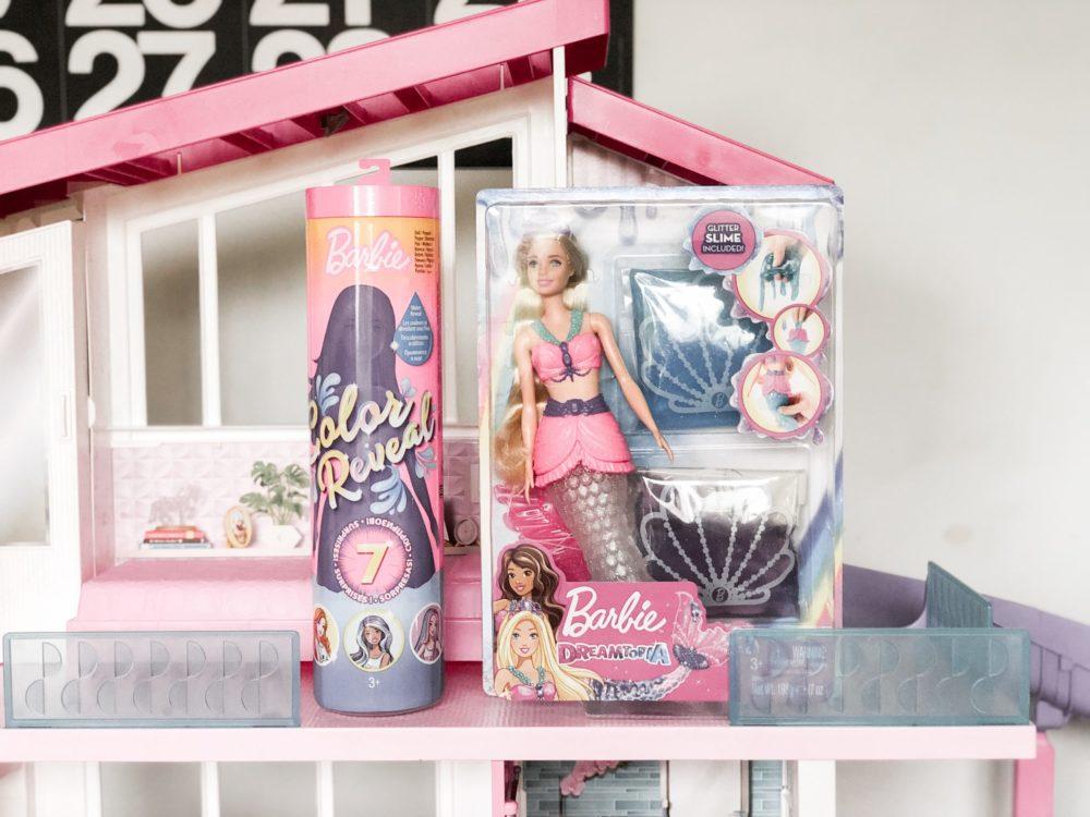 Barbie Color Reveal Doll Barbie Dreamtopia Slime Mermaid