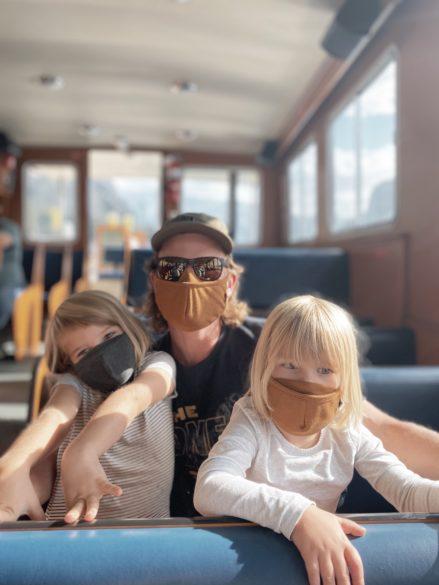 Lake Minnewanka Boat Cruise with the kids