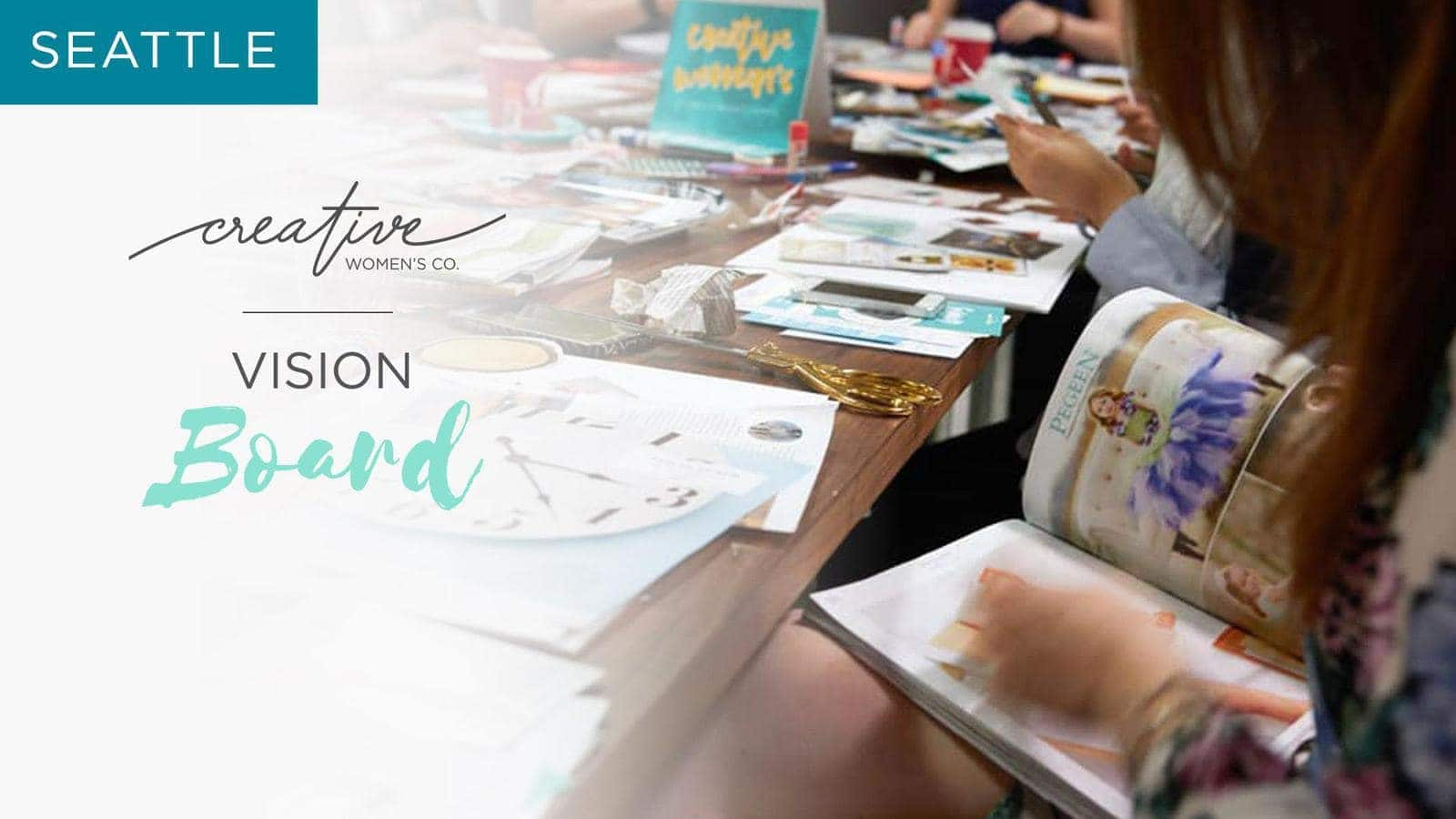 Seattle Cwc Brunch Craft Your Vision Board