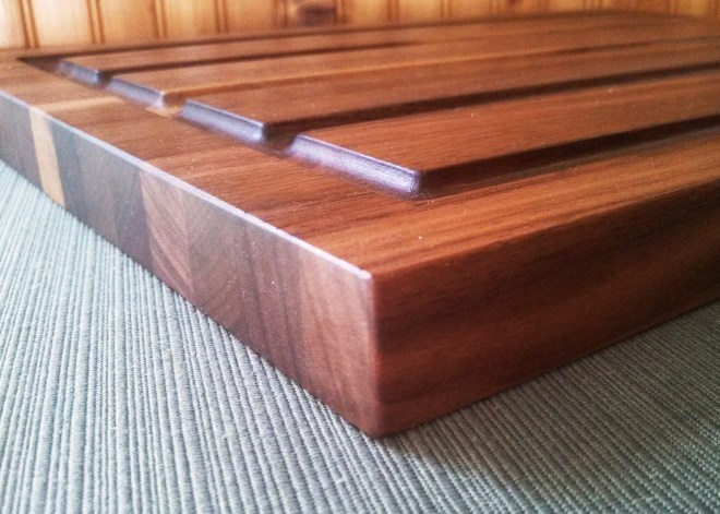 Elle - Routed and Angled Drip Edge - In Walnut