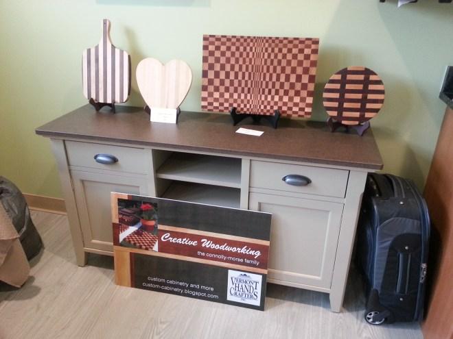 Creative Woodworking Craft Fair Table