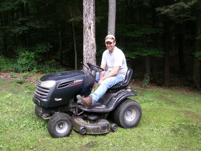 Riding Lawnmower - Fixed