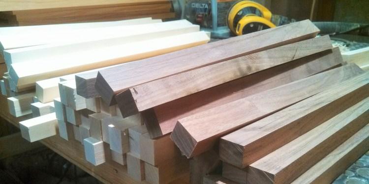 ripping-stock-walnut-maple-dewalt-sander
