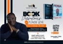Literary Event/ A Bookversation With Tunde Leye—Register For Free
