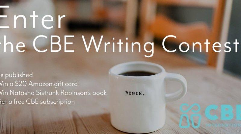 The CBE International Writing #Contest 2019 (Prizes: $20 +