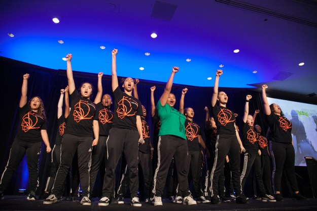 Participants in the National Guild for Community Arts Education's Emerging Young Artist Residency Perform at the Guild's 2018 Conference in San Francisco/Oakland.
