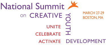 Logo for National Summit on Creative Youth Development