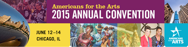 Americans for the Arts 2015 Conference logo