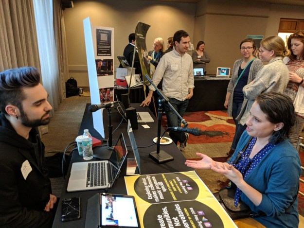 META Fellows share their projects at Final Showcase.