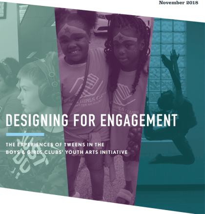 Designing for Engagement report cover
