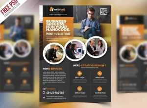 Corporate Flyer Template Free PSD