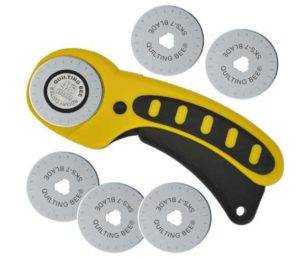 Quilting Bee 45mm Rotary Cutter & 5 Refill