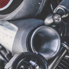 Écope de prise d'air en aluminium pour BMW Nine T – Sans Grille