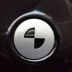 Badge de capot de selle en aluminium pour BMW Nine T – 26mm
