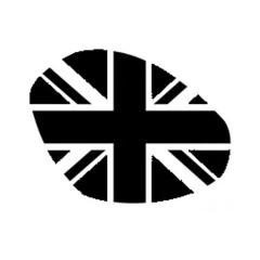 Sticker de phare «Union Jack» fumé pour Triumph Speed / Street Triple 2016