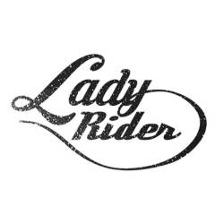 Sticker «LADY RIDER»