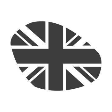 """Sticker de phare """"Union Jack"""" fumé pour Triumph Speed / Street Triple 2016"""