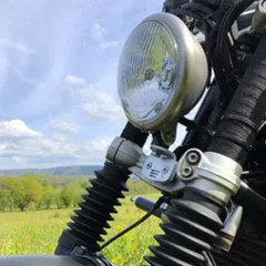 Support de phare Bates pour BMW Nine T