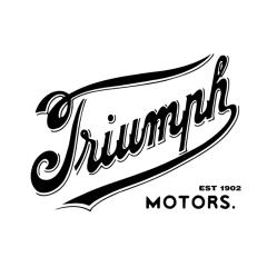 Stickers de réservoir «TRIUMPH» Old School