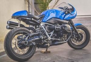 NineT Blue Racer