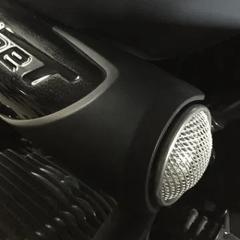 Écope de prise d'air en aluminium pour BMW Nine T – Avec Grille
