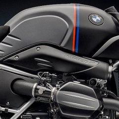 Traitements époxy écope prise d'air pour BMW Nine T