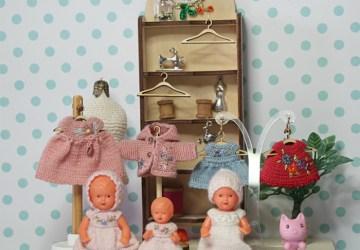Vintage celluloid dolls