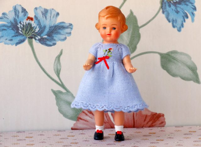 vintage 5 inches doll German