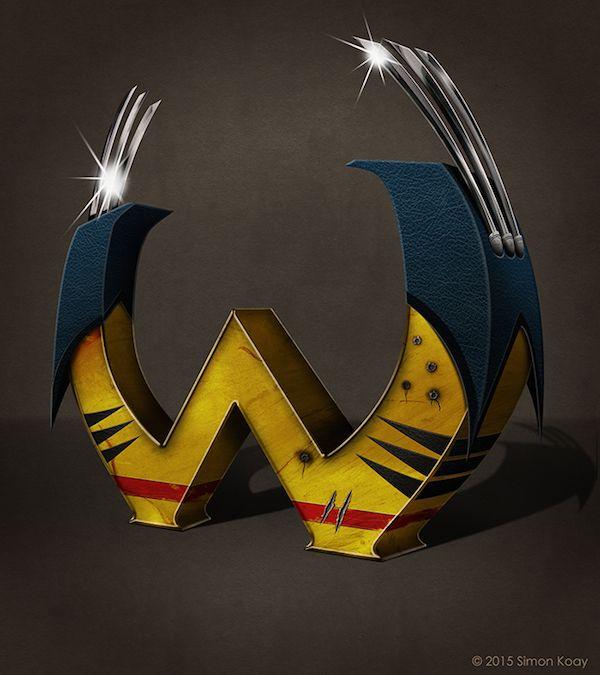 alfabeto-inspirado-superheroes-asombroso-W