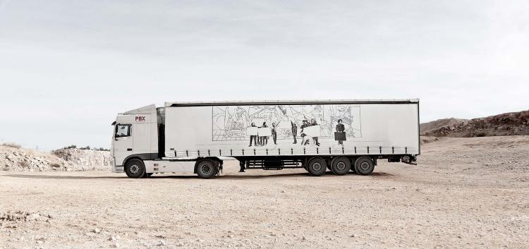 diseño camion arce truck-art-project