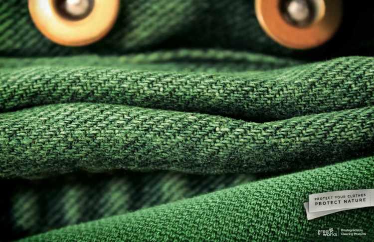 creatividad lavar ropa ecologica