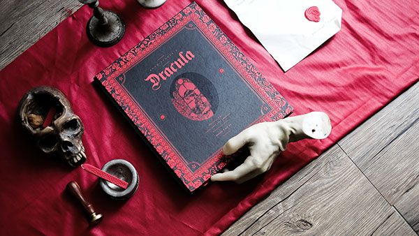 dracula cover book design