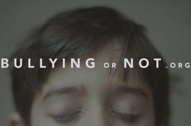 bullying or not acoso escolar