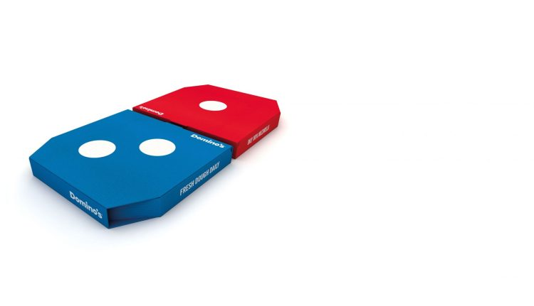 packaging dominos