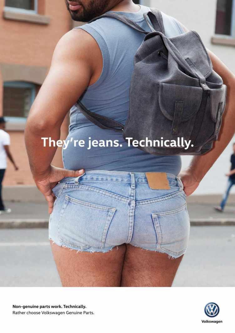 jeans vaquero tecnicamente volkswagen campaña repuesto