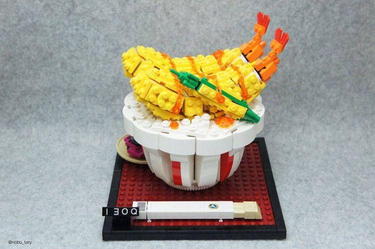 taza comida lego japon
