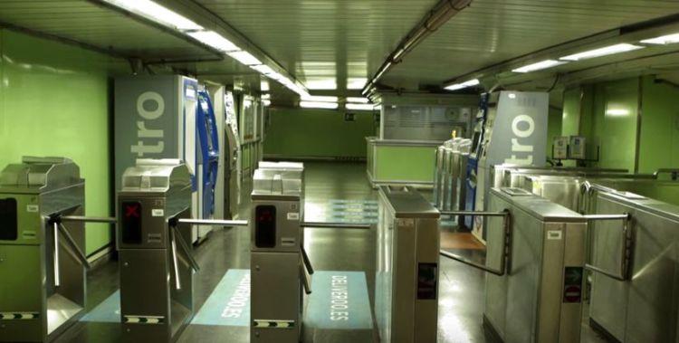 acción cazafantasmas no metro viral