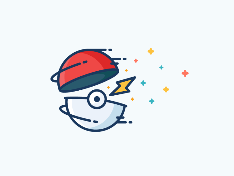 diseño pokemon pokeball