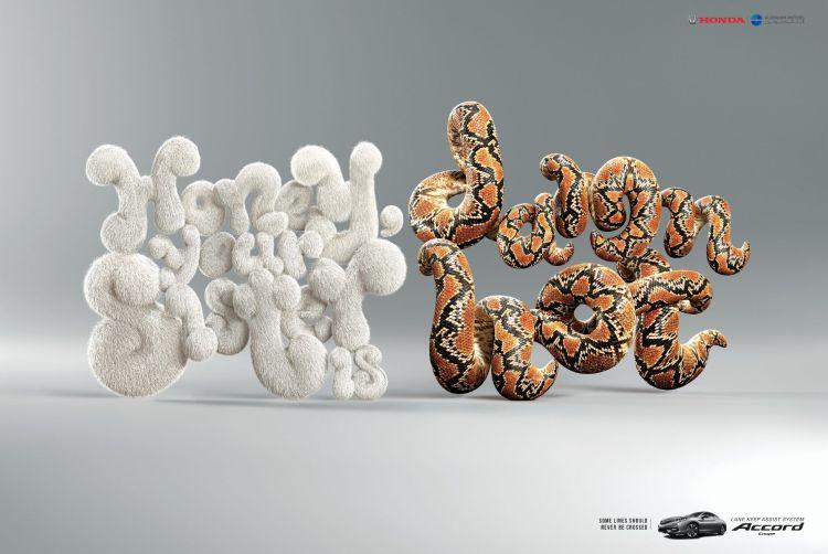 serpiente conejo creatividad honda