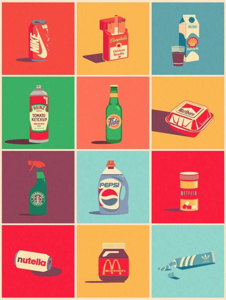 mezclado marcas creatividad