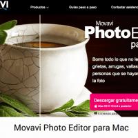 Edición de fotos digitales con Movavi