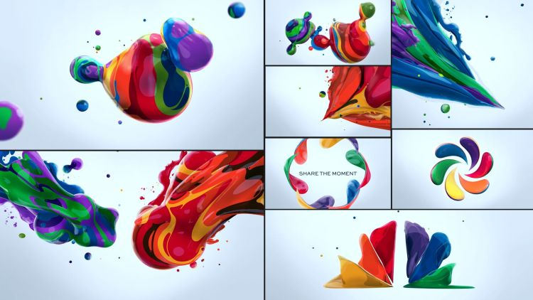 motion graphics nbc creatividad color