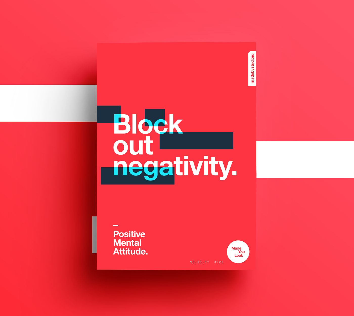 made you look poster creatividad